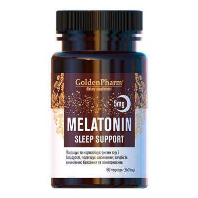 Melatonin Sleep Support 5 мг 60 капсул