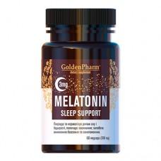 Мелатонін Підтримка сну 3 мг 60 веганських капсул