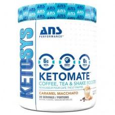 ANS Performance Ketomate добавка для кофе, чая и коктейлей Карамельный маккиато 293 г
