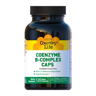 Коензим B-Комплекс капсулы №120 ТМ Кантри Лайф / Country Life