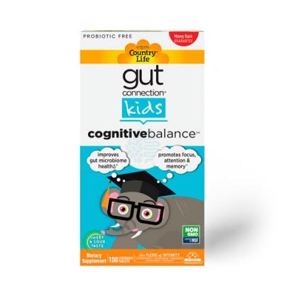 Gut Connection Kids Cognitive Balance Кишечник и мозг ТМ Кантри Лайф / Country Life №100