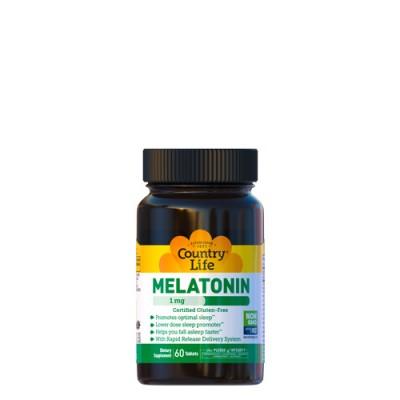 Мелатонин 1 мг 60 таблеток ТМ Кантри Лайф / Country Life
