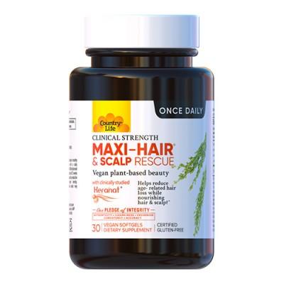 Maxi-Hair спасение кожи головы Кантри Лайф / Country Life 30 веганских капсул