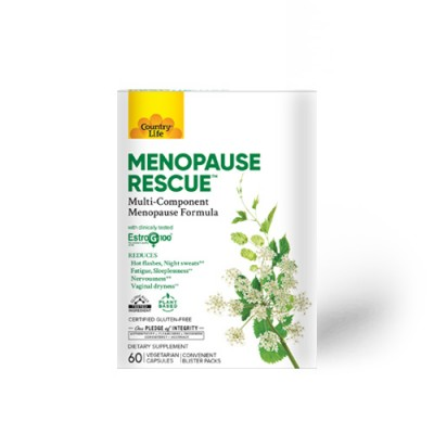 Витамины при менопаузе (Menopause Rescue) №60 вегетарианских капсул ТМ Кантри Лайф / Country Life