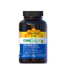 Мультивитамины для мужчин Кор Дейли-1, 60 таблеток ТМ Кантри Лайф / Country Life
