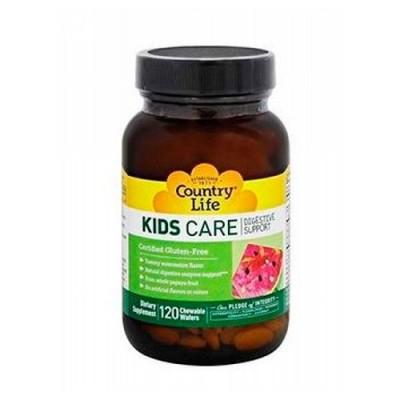 Витамины для детей KIDS CARE для пищеварения, таблетки №120 ТМ Кантри Лайф / Country Life