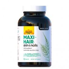 Витамины для волос Maxi Hair 90 таблеток ТМ Кантри Лайф / Country Life