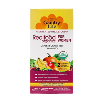 Реалфуд органик для женщин 120 таблеток ТМ Кантри Лайф / Country Life