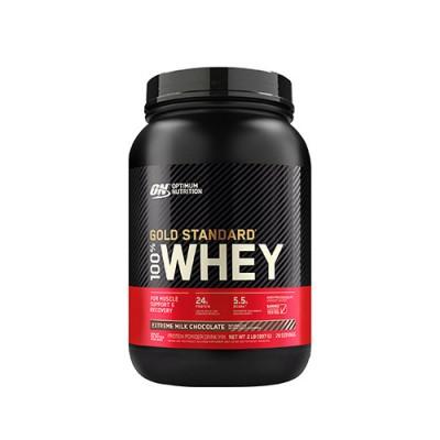 Сывороточный протеин Optimum Nutrition 100% Whey Gold Standard Extreme Milk Chocolate 909 г