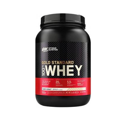 Сывороточный протеин Optimum Nutrition 100% Whey Gold Standard Cake Donut 907 г