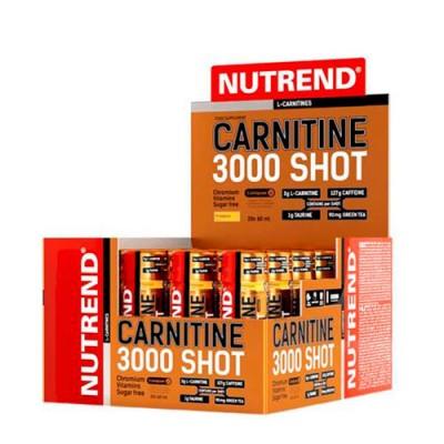 CARNITINE 3000 Shot клубника ТМ Нутренд / Nutrend 60 ml