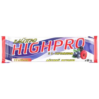 Белковый батончик «ХайПро» лесная ягода 60 г