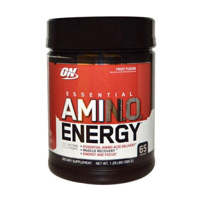 Аминокислота для спорта Optimum Nutrition Essential Amino Energy 585 г Fruit Fusion