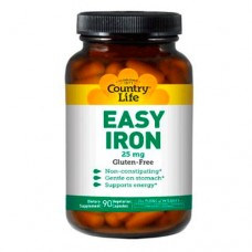 Легкое железо капсулы 25 мг № 90 ТМ Кантри Лайф / Country Life