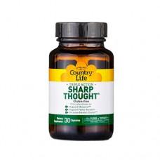 Витамины для ума 30 капсул ТМ Кантри Лайф / Country Life