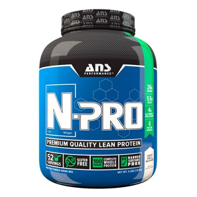 ANS комплексный протеин N-PRO Premium Protein молочный шейк со сливочной ванилью 1,81 кг