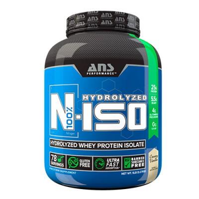 ANS изолят сывороточного протеина N-ISO 100% Hydrolyzed сливочная ваниль 2,27 кг