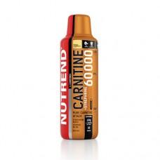 Жироспалювач Carnitine 60000 + Synephrine жовта малина ТМ Нутренд / Nutrend 500 мл