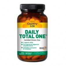 Витамины Дейли тотал ван с железом капсулы №60 ТМ Кантри Лайф / Country Life