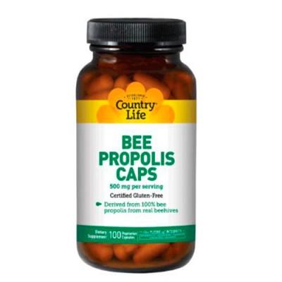Пчелиный прополис 500 мг таблетки №100 капсул ТМ Кантри Лайф / Country Life