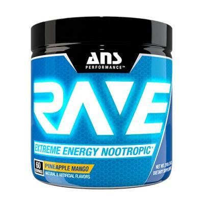 ANS предтренировочный комплекс Rave Extreme Energy Nootropic US ананас-манго 210 г