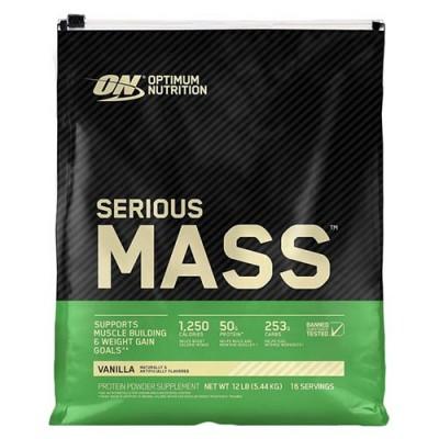 Гейнер Optimum Nutrition Serious Mass 5.45 кг - Ваниль