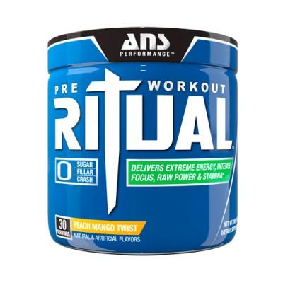 ANS предтренировочный комплекс Ritual Pre-Workout персиково-манговый твист 270 г