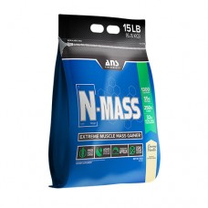 ANS Performance гейнер N-MASS US сливочная ваниль 6,8 кг