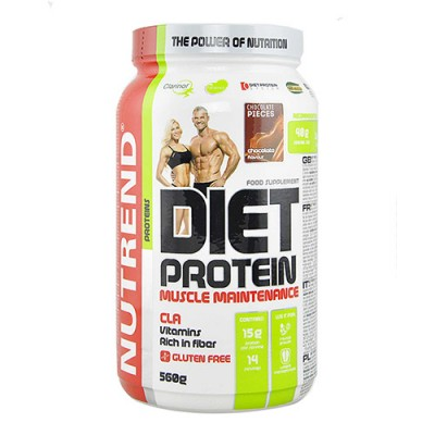 Diet Protein шоколад ТМ Нутренд / Nutrend 560г