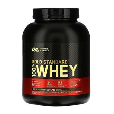 Сывороточный протеин ON 100% Whey Gold Standard 2.27 кг Double Rich Chocolate