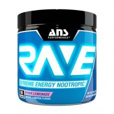 Передтренувальний комплекс ANS Performance Rave Extreme Energy Nootropic US рожевий лимонад 210 г