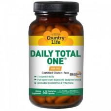 Витаминно-минеральный комплекс Daily Total One без железа капсулы №60 ТМ Кантри Лайф / Country Life