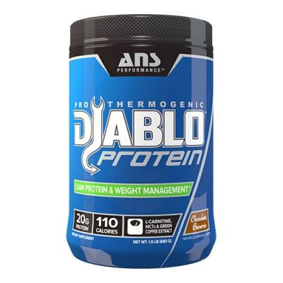 ANS протеин Diablo Protein US шоколадный брауни 0,68 кг