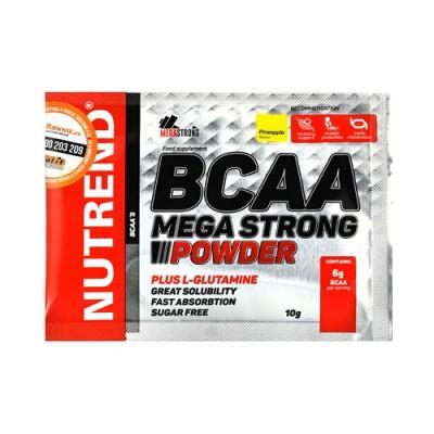 Аминокислоты BCAA Mega Strong Powder грейпфрут ТМ Нутренд / Nutrend стик 20x10г