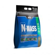 ANS Performance гейнер N-MASS US фадж с арахисового масла 6,8 кг