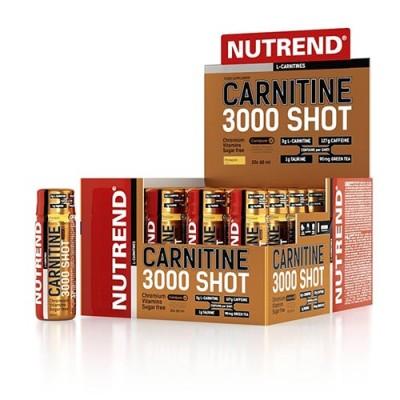Carnitine 3000 Shot ананас ТМ Нутренд / Nutrend 20x60мл