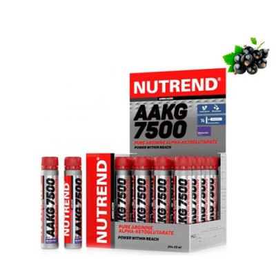 AAKG 7500 черная смородинаТМ Нутренд / Nutrend  25 ml №20