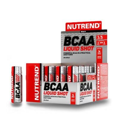 Аминокислоты BCAA Liquid Shot ТМ Нутренд / Nutrend 20x60мл
