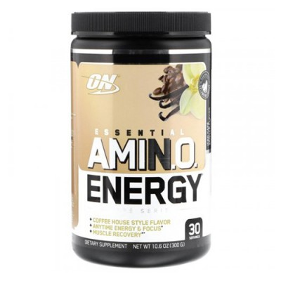 Аминокислоты Essential Amino Energy Optimum Nutrition cafe vanilla 300г