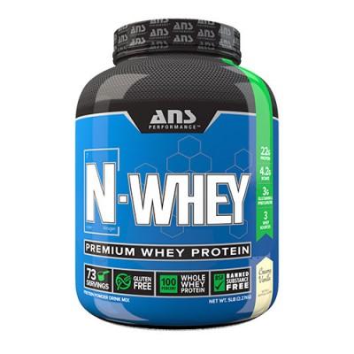 Сироватковий протеїн ANS Performance N-WHEY вершкова ваніль 2,27 кг
