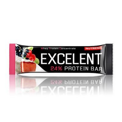 Батончик Excelent Protein Bar черная смородина+клюква ТМ Нутренд / Nutrend 85г