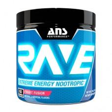 Передтренувальний комплекс ANS Performance Rave Extreme Energy Nootropic US фруктова суміш 210 г