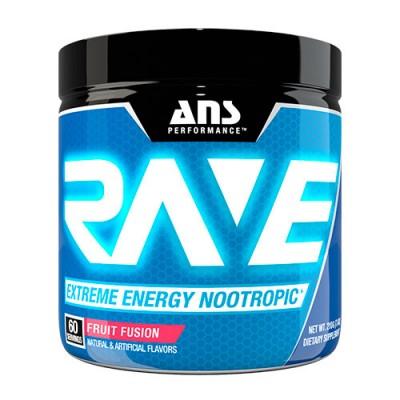 ANS предтренировочный комплекс Rave Extreme Energy Nootropic US фруктовая смесь 210 г