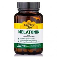 Мелатонин 3 мг 90 таблеток ТМ Кантри Лайф / Country Life