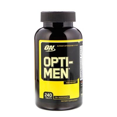 Витамины для мужчин Opti-Men ТМ Optimum Nutrition 240 таблеток
