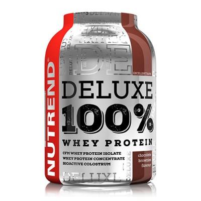 Deluxe 100% Whey шоколадное пирожное ТМ Нутренд / Nutrend 900г