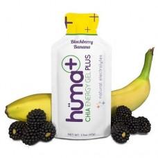 Гель енергетичний Plus Blackberry & Banana з електролітами ТМ Huma 42 г