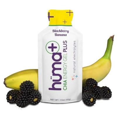 Гель энергетический Plus Blackberry & Banana с электролитами ТМ Huma 42 г