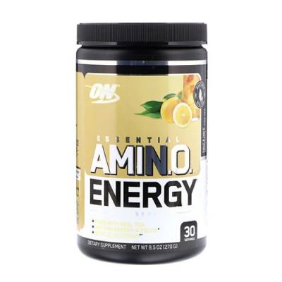 Аминокислота для спорта Optimum Nutrition Essential Amino Energy Tea Series 270 г Half & Half Lemonade & Iced Tea