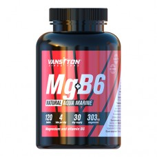 Магний+B6 AquaMarine 120 таблеток ТМ Ванситон / Vansiton